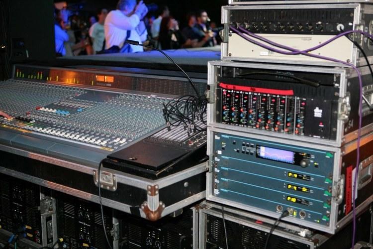 Nos consoles de mixage